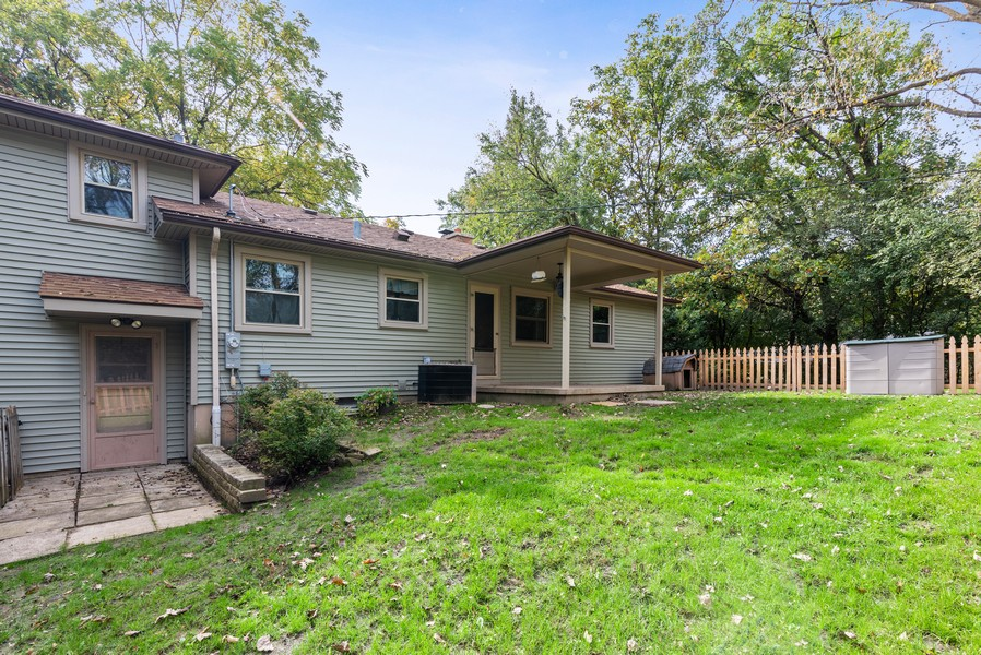 Real Estate Photography - 7404 Chesterfield Rd, Crystal Lake, IL, 60012 - Rear View