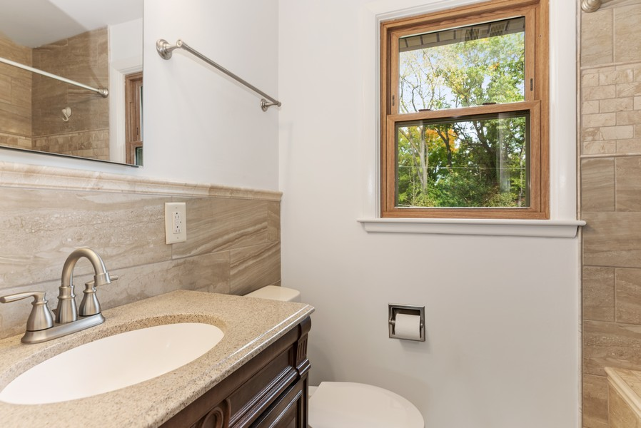 Real Estate Photography - 7404 Chesterfield Rd, Crystal Lake, IL, 60012 - Bathroom