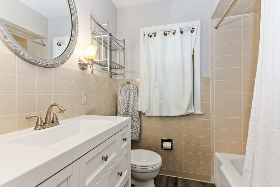 Real Estate Photography - 7404 Chesterfield Rd, Crystal Lake, IL, 60012 - 2nd Bathroom