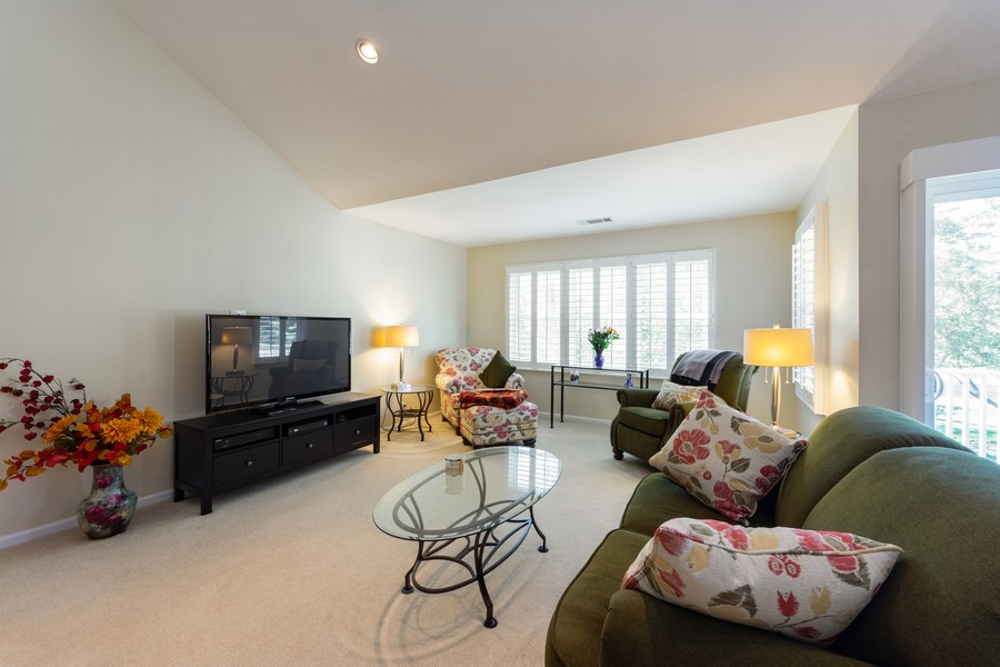 Real Estate Photography - 603 Thistle Lane, Prospect Heights, IL, 60070 - Living Room