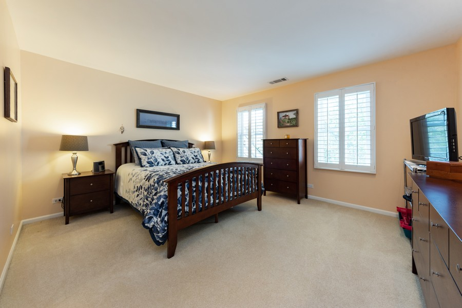 Real Estate Photography - 603 Thistle Lane, Prospect Heights, IL, 60070 - Master Bedroom