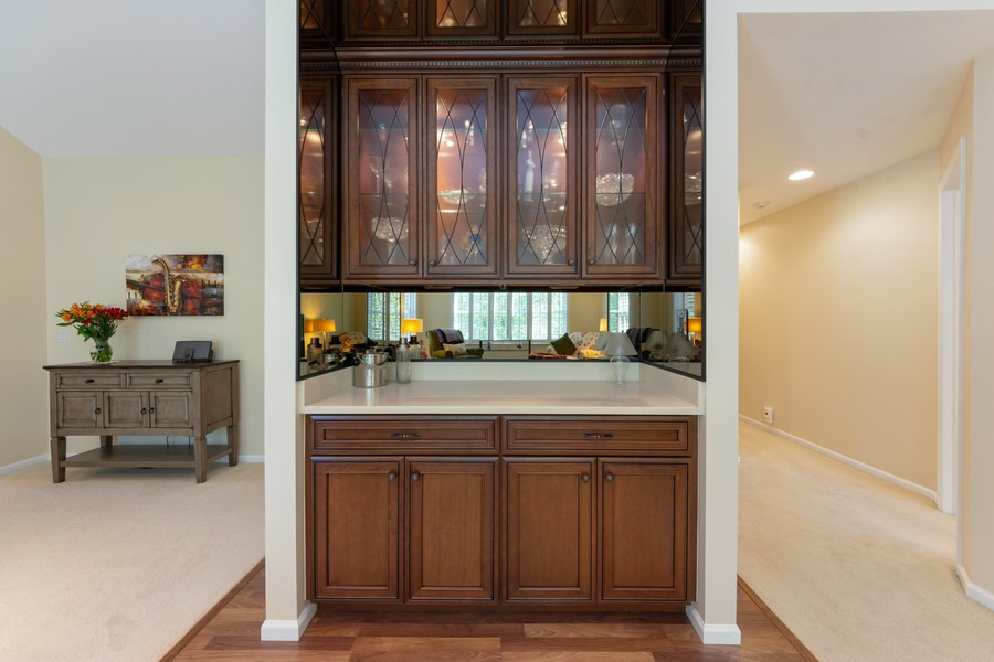Real Estate Photography - 603 Thistle Lane, Prospect Heights, IL, 60070 - Bar
