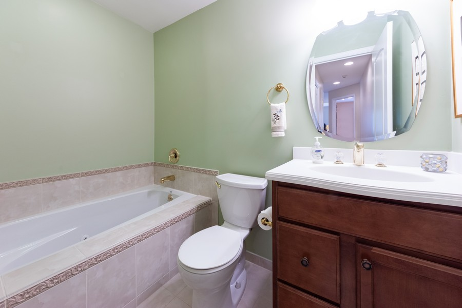 Real Estate Photography - 603 Thistle Lane, Prospect Heights, IL, 60070 - 2nd Bathroom