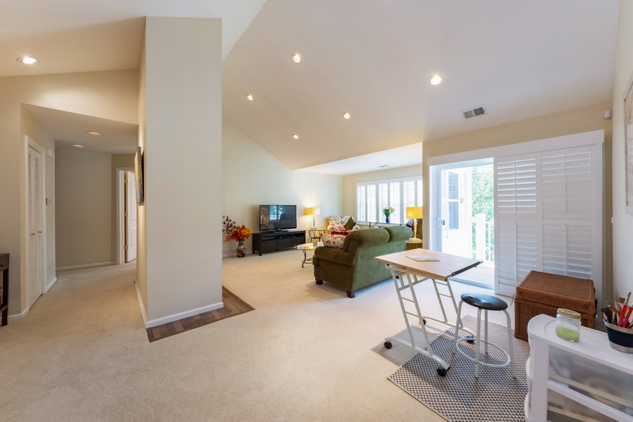 Real Estate Photography - 603 Thistle Lane, Prospect Heights, IL, 60070 - Living Room / Dining Room