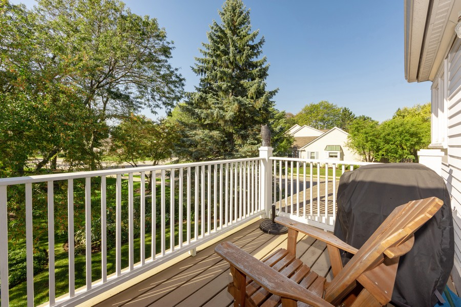 Real Estate Photography - 603 Thistle Lane, Prospect Heights, IL, 60070 - Balcony