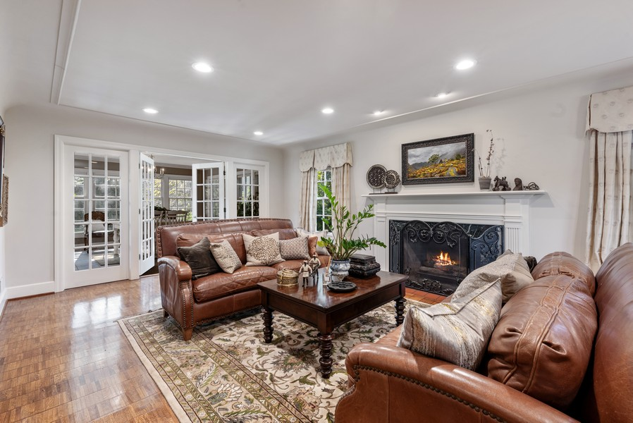Real Estate Photography - 444 Crystal Court, Village Of Lakewood, IL, 60014 - Living Room
