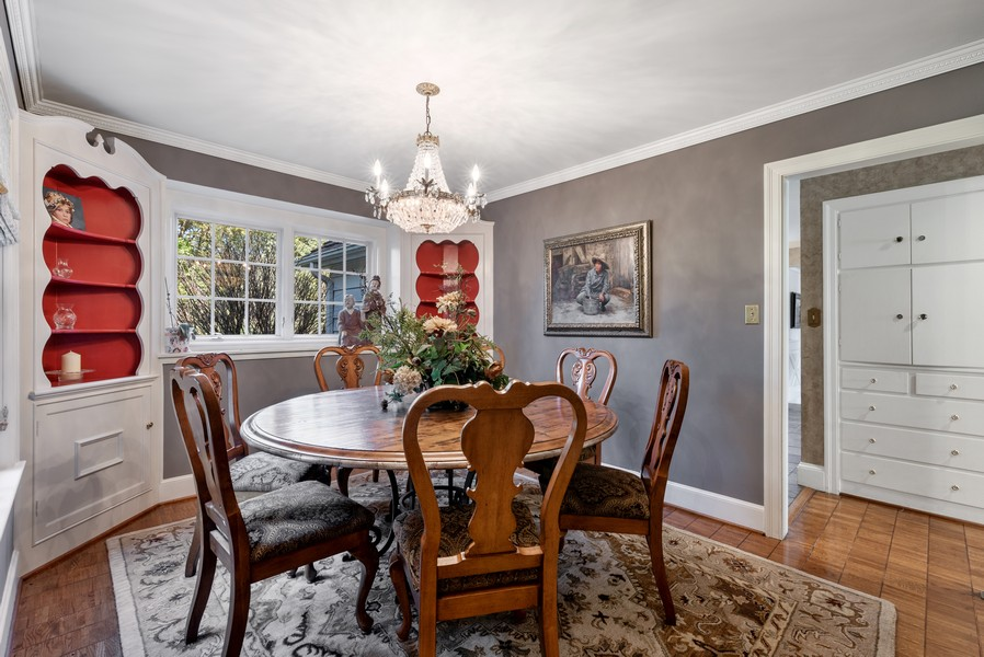Real Estate Photography - 444 Crystal Court, Village Of Lakewood, IL, 60014 - Dining Room