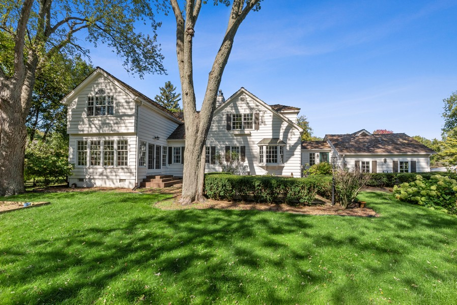 Real Estate Photography - 444 Crystal Court, Village Of Lakewood, IL, 60014 - Rear View