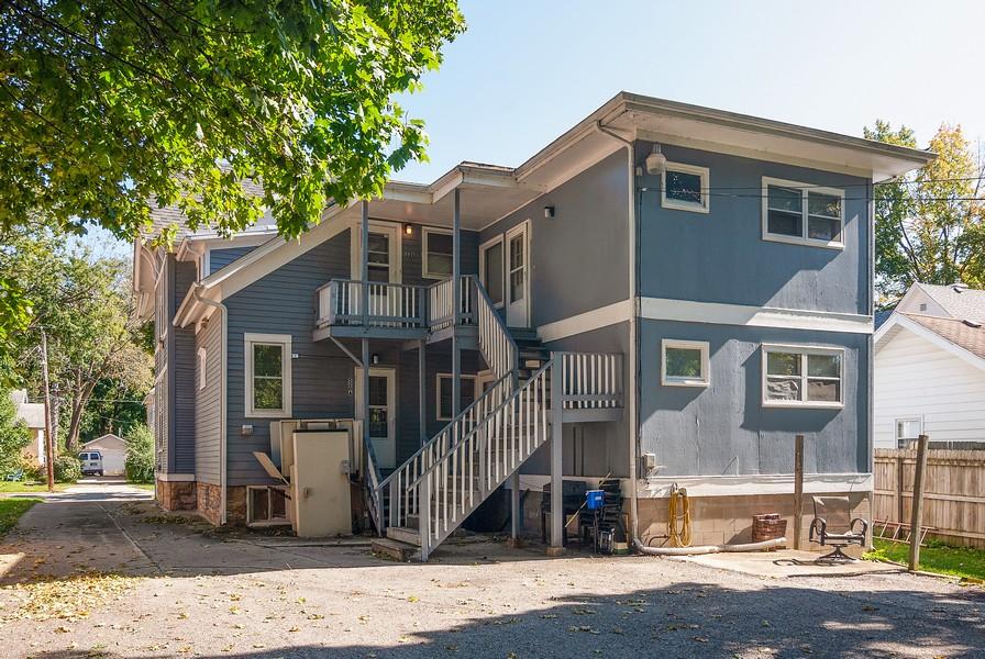 Real Estate Photography - 520 Iowa Ave, Aurora, IL, 60506 - Rear View