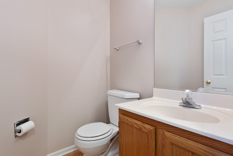 Real Estate Photography - 1503 St. Marks Place, Palatine, IL, 60067 - Powder Room