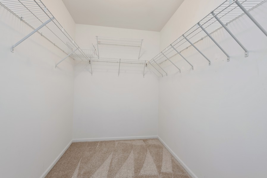 Real Estate Photography - 1503 St. Marks Place, Palatine, IL, 60067 - Master Bedroom Closet