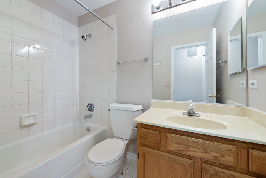 Real Estate Photography - 1503 St. Marks Place, Palatine, IL, 60067 - 2nd Bathroom
