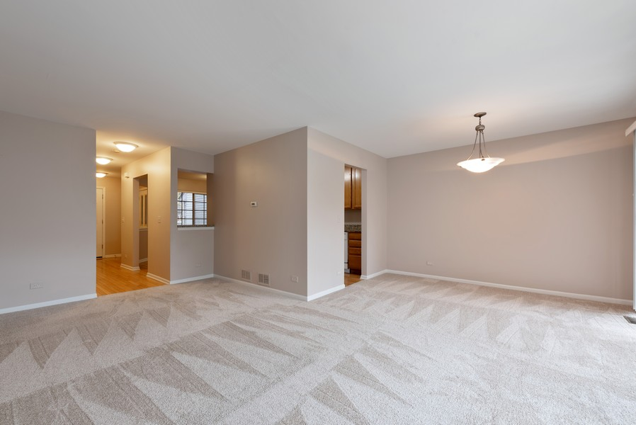 Real Estate Photography - 1503 St. Marks Place, Palatine, IL, 60067 - Living Room / Dining Room