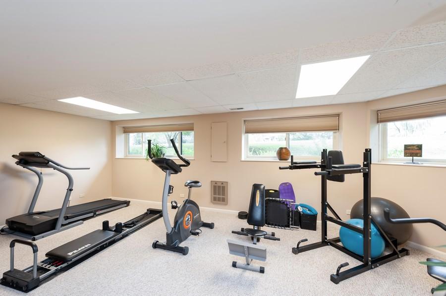 Real Estate Photography - 922 Longmeadow Ct, Lake Barrington, IL, 60010 - Exercise Room