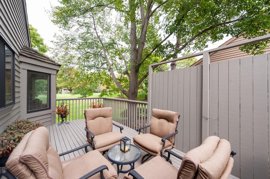Real Estate Photography - 922 Longmeadow Ct, Lake Barrington, IL, 60010 - Deck