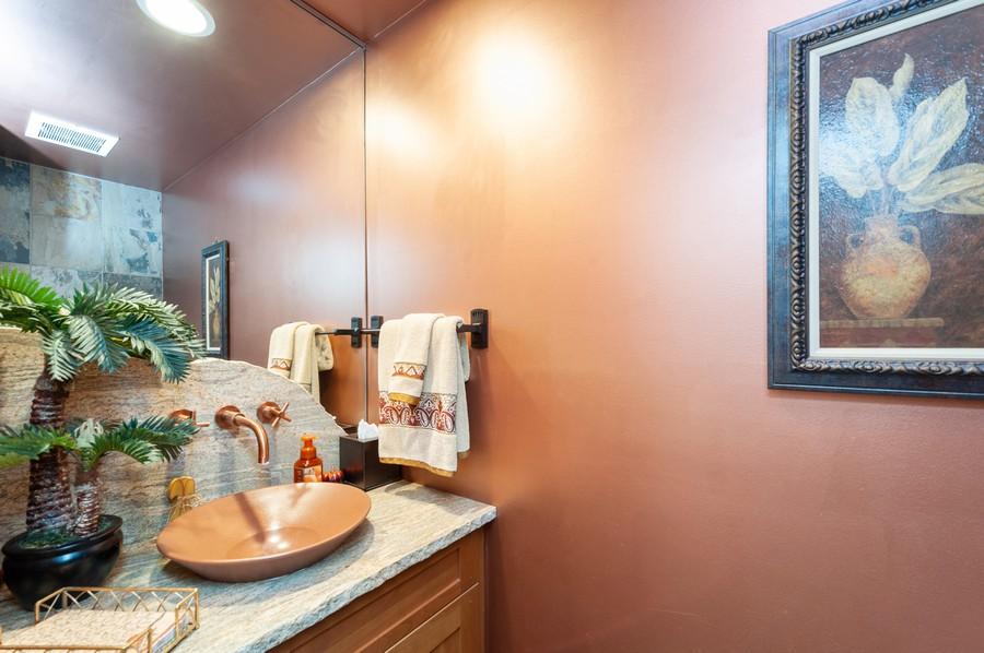 Real Estate Photography - 922 Longmeadow Ct, Lake Barrington, IL, 60010 - Powder Room