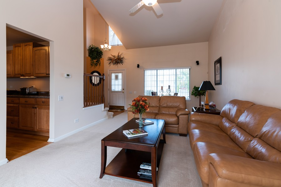 Real Estate Photography - 430 Summersweet Lane, Bartlett, IL, 60103 - Living Room