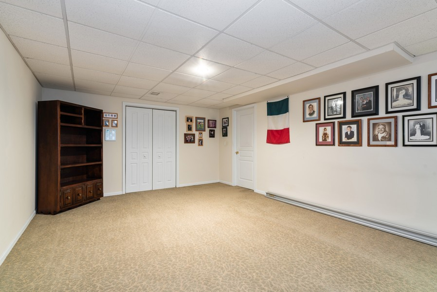 Real Estate Photography - 430 Summersweet Lane, Bartlett, IL, 60103 - Basement