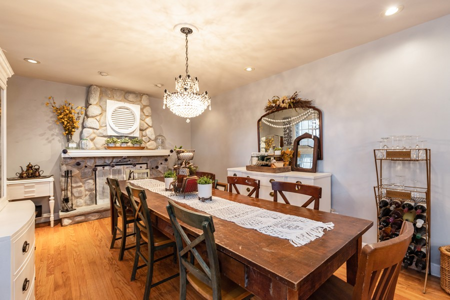 Real Estate Photography - 990 Blackburn St., Gurnee, IL, 60031 - Dining Room