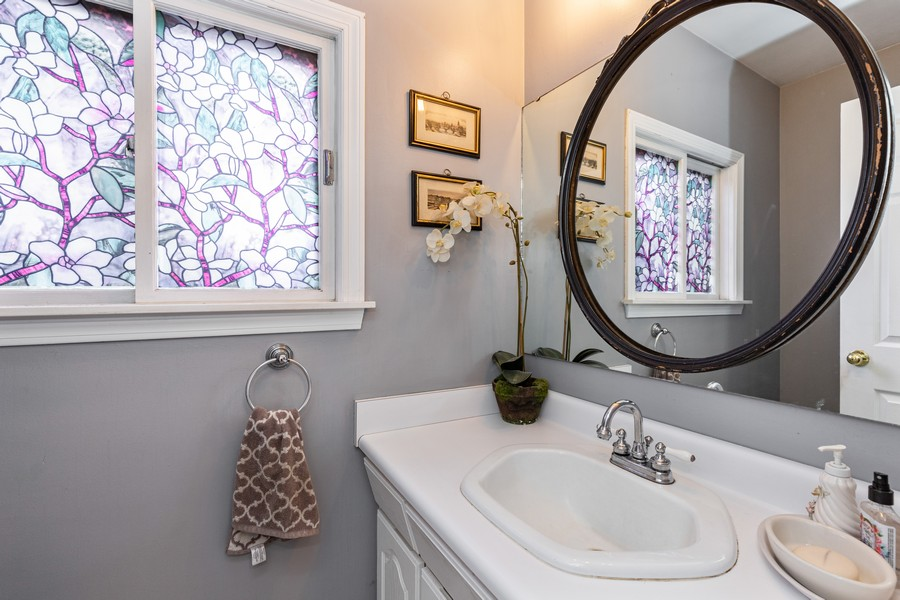 Real Estate Photography - 990 Blackburn St., Gurnee, IL, 60031 - Half Bath