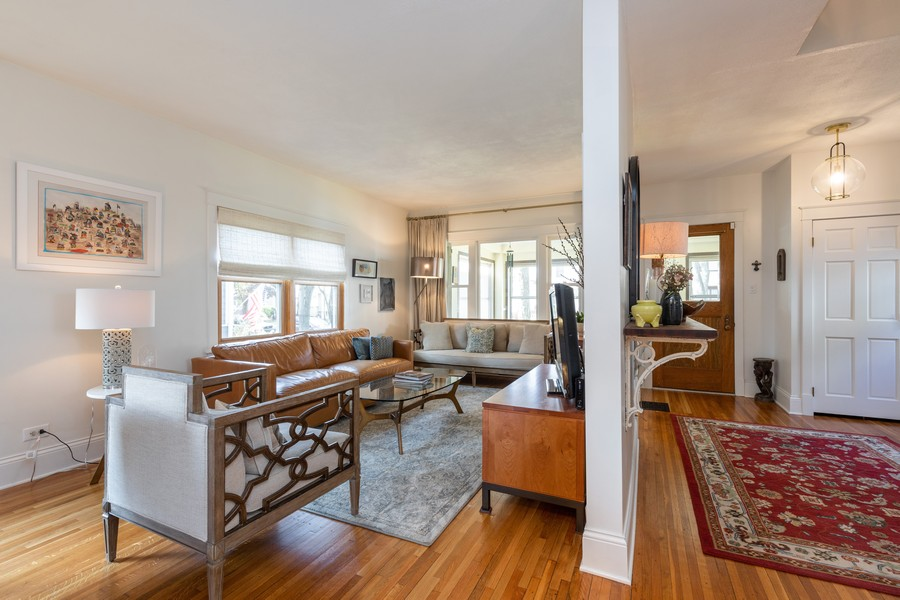 Real Estate Photography - 3113 Maple Avenue, Berwyn, IL, 60402 - Living Room