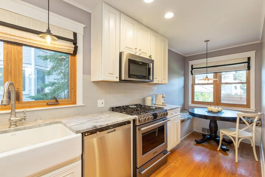 Real Estate Photography - 3113 Maple Avenue, Berwyn, IL, 60402 - Kitchen