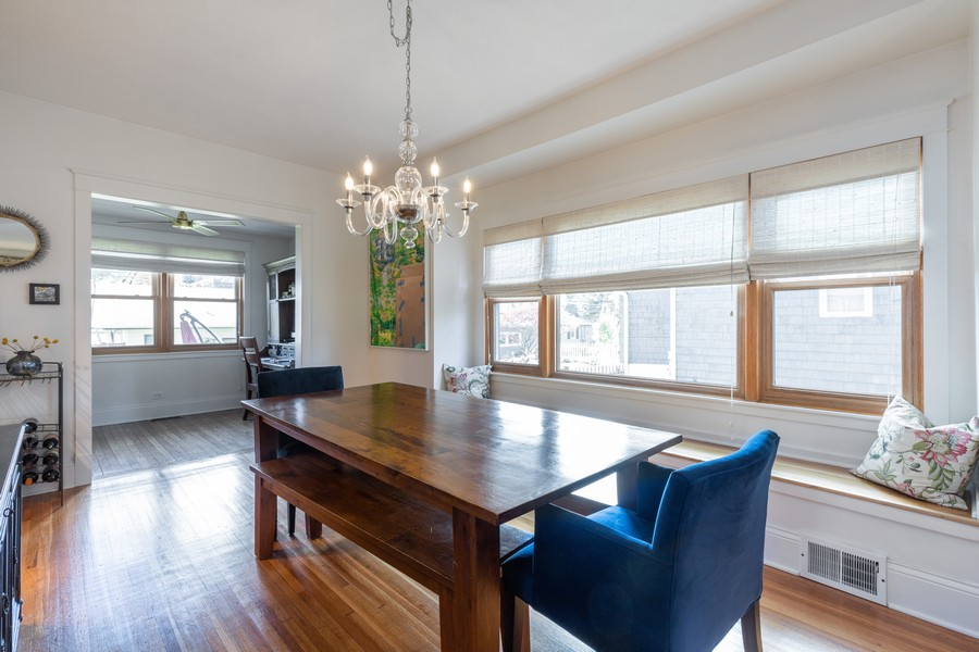 Real Estate Photography - 3113 Maple Avenue, Berwyn, IL, 60402 - Dining Room