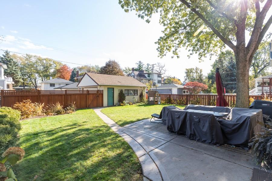 Real Estate Photography - 3113 Maple Avenue, Berwyn, IL, 60402 - Back Yard