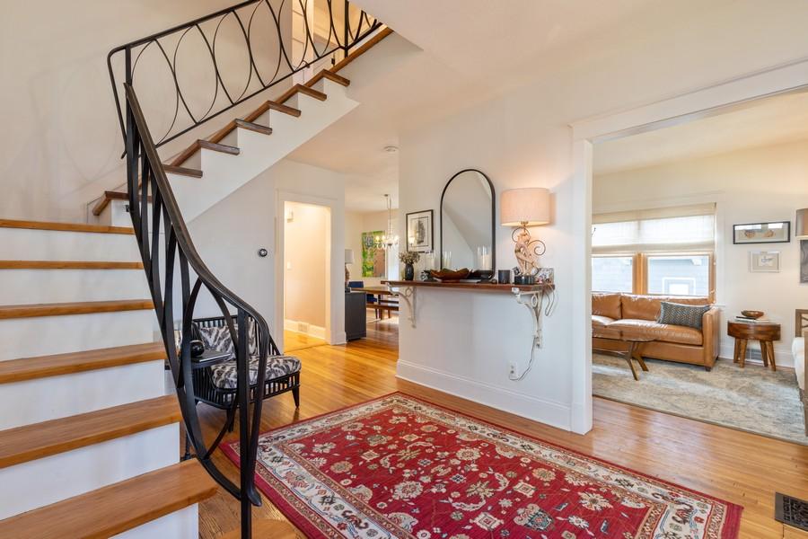 Real Estate Photography - 3113 Maple Avenue, Berwyn, IL, 60402 - Foyer