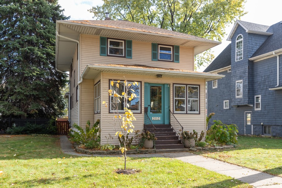 Real Estate Photography - 3113 Maple Avenue, Berwyn, IL, 60402 - Front View