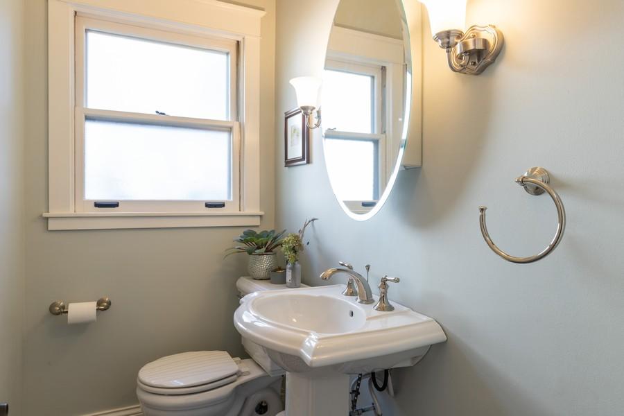 Real Estate Photography - 3113 Maple Avenue, Berwyn, IL, 60402 - 2nd Bathroom