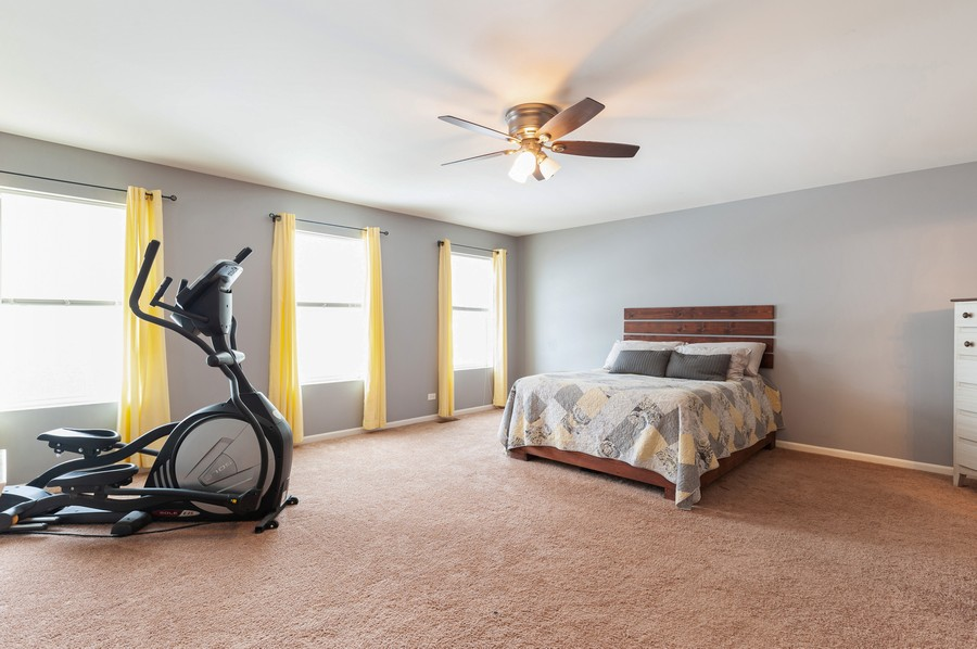 Real Estate Photography - 999 Richard Brown Blvd, Volo, IL, 60073 - Master Bedroom