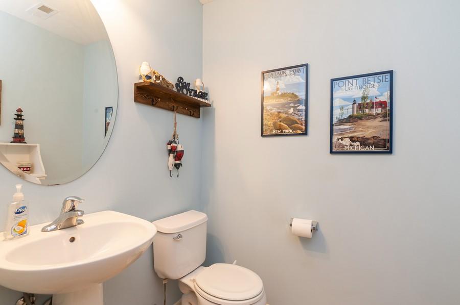 Real Estate Photography - 999 Richard Brown Blvd, Volo, IL, 60073 - Powder Room