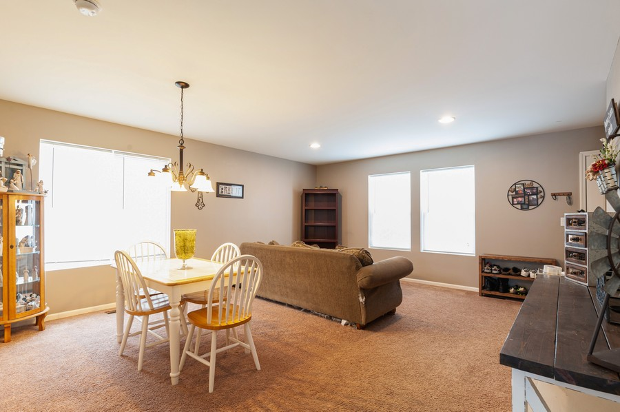 Real Estate Photography - 999 Richard Brown Blvd, Volo, IL, 60073 - Living Room / Dining Room