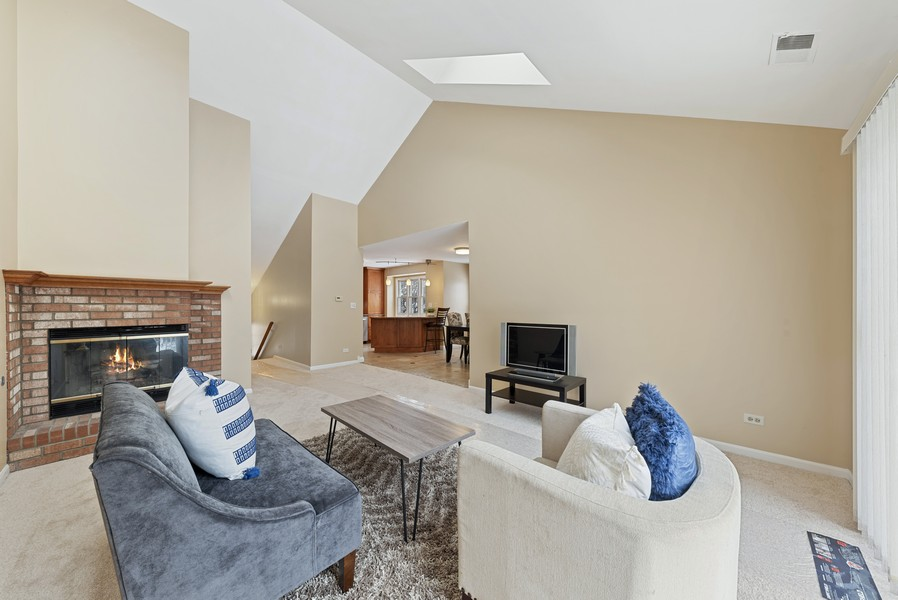 Real Estate Photography - 1023 Brentwood, Buffalo Grove, IL, 60089 - Living Room