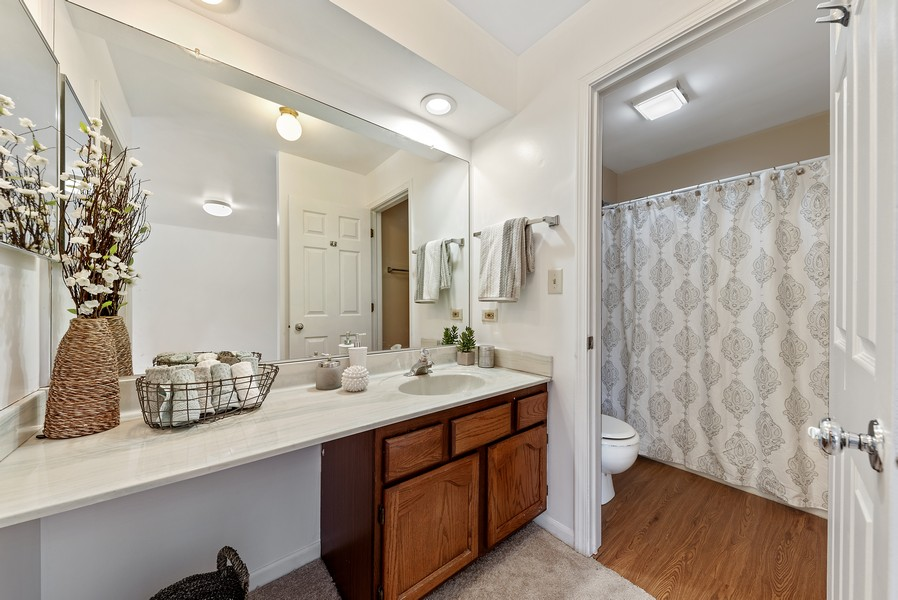 Real Estate Photography - 1023 Brentwood, Buffalo Grove, IL, 60089 - Master Bathroom