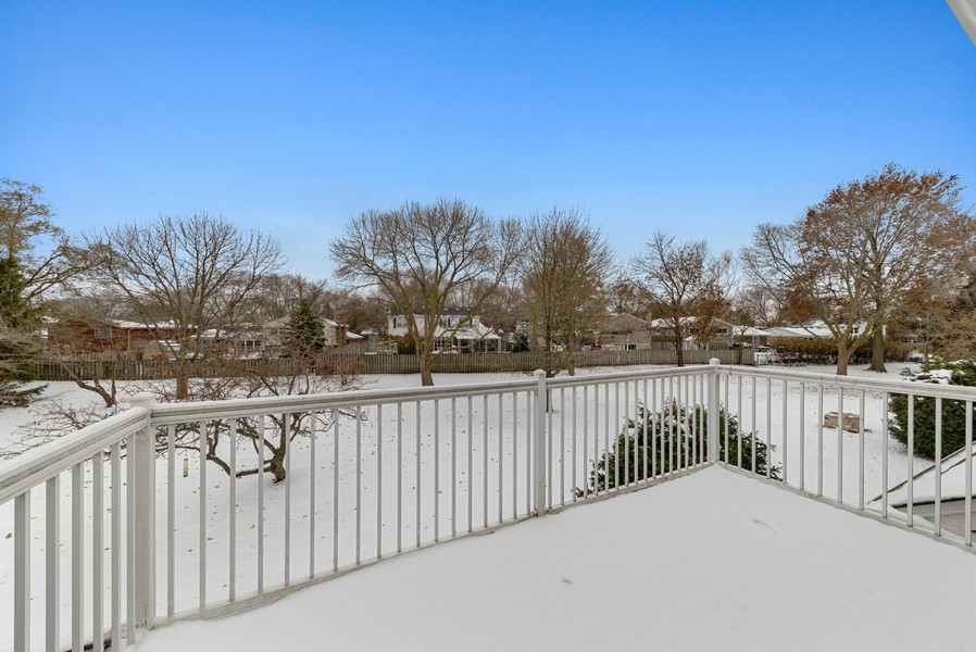 Real Estate Photography - 1023 Brentwood, Buffalo Grove, IL, 60089 - Deck