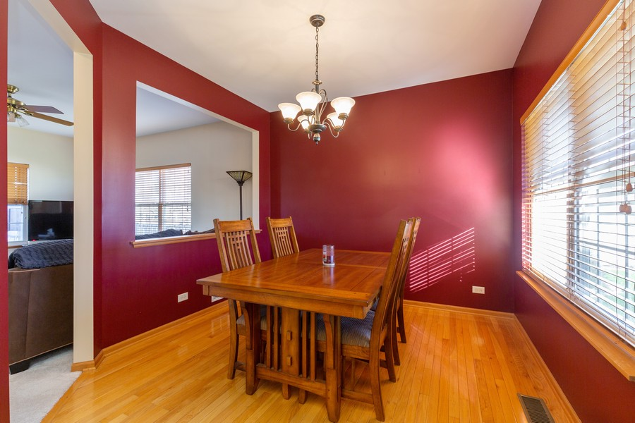 Real Estate Photography - 280 Copper Mountain Drive, Gilberts, IL, 60136 - Dining Room