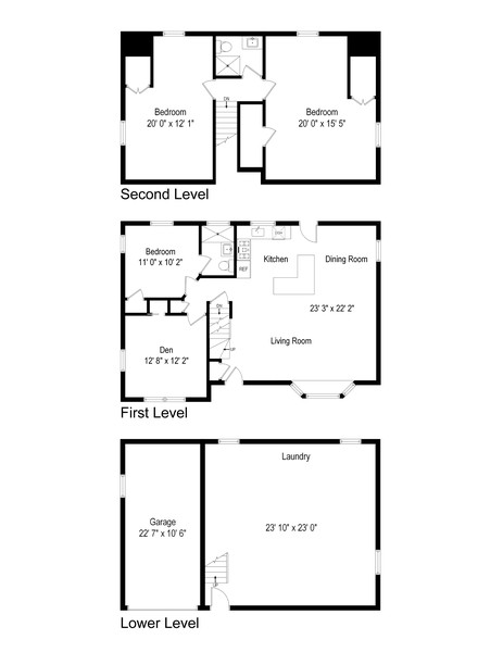 Real Estate Photography - 251 Buttonwood Ave, Cortlandt Manor, NY, 10567 - Floor Plan