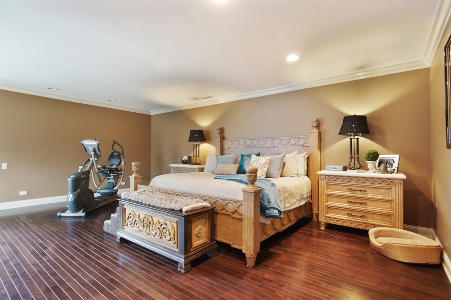 Real Estate Photography - 421 E Orchard, Arlington Heights, IL, 60005 - Master Bedroom