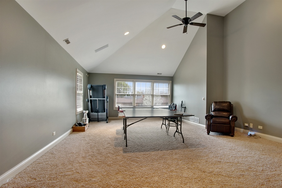 Real Estate Photography - 421 E Orchard, Arlington Heights, IL, 60005 - Gameroom