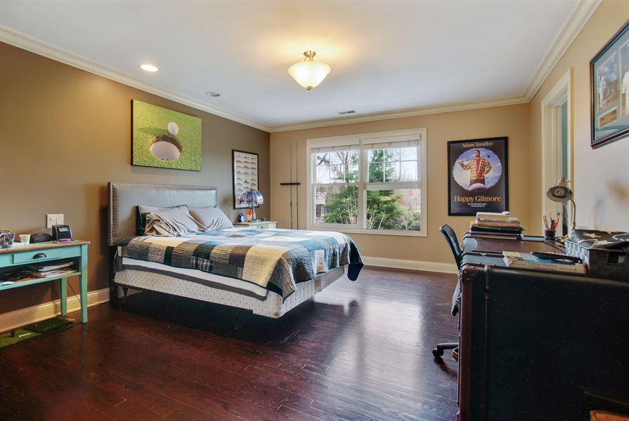 Real Estate Photography - 421 E Orchard, Arlington Heights, IL, 60005 - Bedroom
