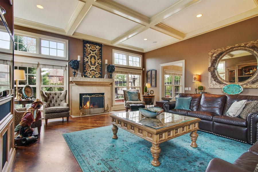 Real Estate Photography - 421 E Orchard, Arlington Heights, IL, 60005 - Family Room