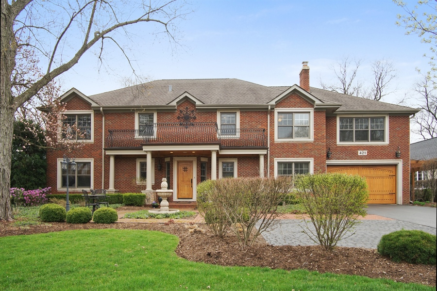 Real Estate Photography - 421 E Orchard, Arlington Heights, IL, 60005 - Front View