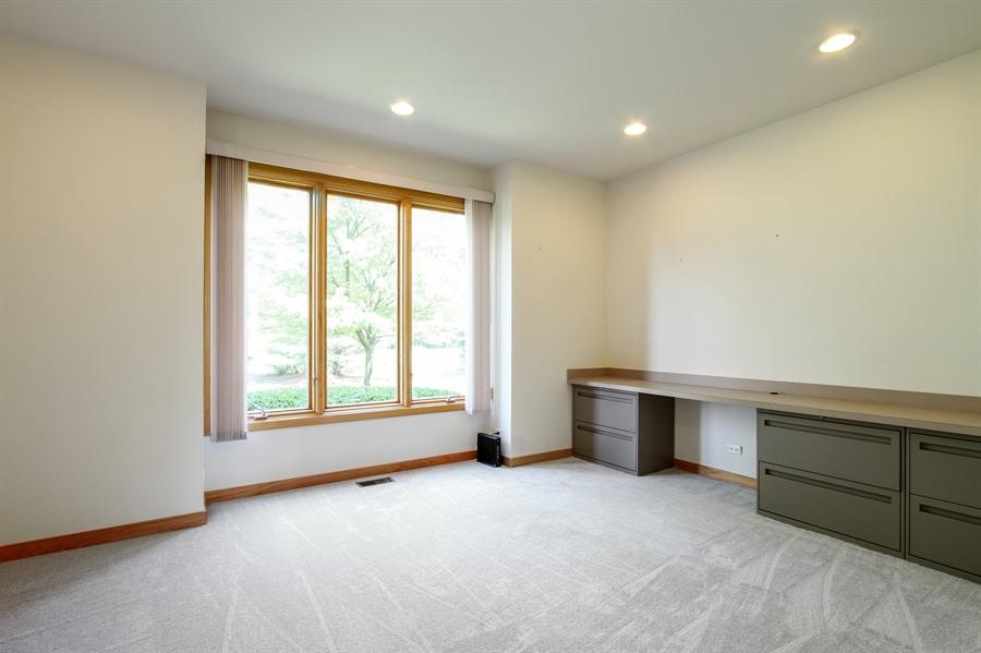 Real Estate Photography - 26636 N Longmeadow, Mundelein, Mundelein, IL, 60060 - Office