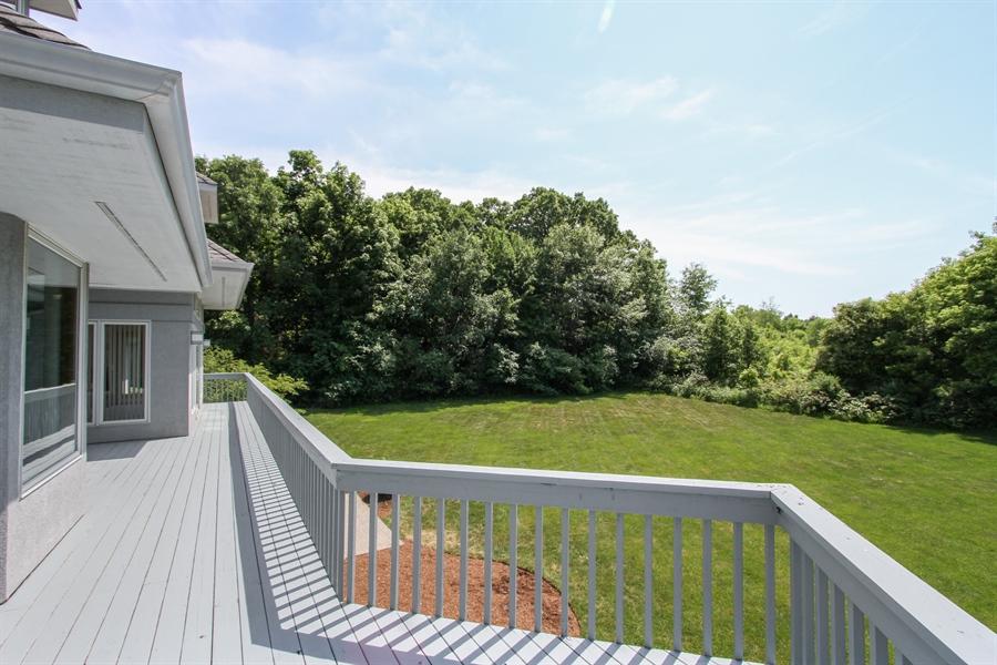Real Estate Photography - 26636 N Longmeadow, Mundelein, Mundelein, IL, 60060 - Deck