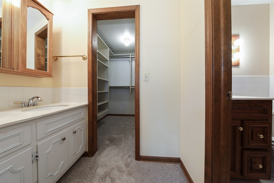 Real Estate Photography - 738 S Forest Dr, Barrington, IL, 60010 - Master Bathroom
