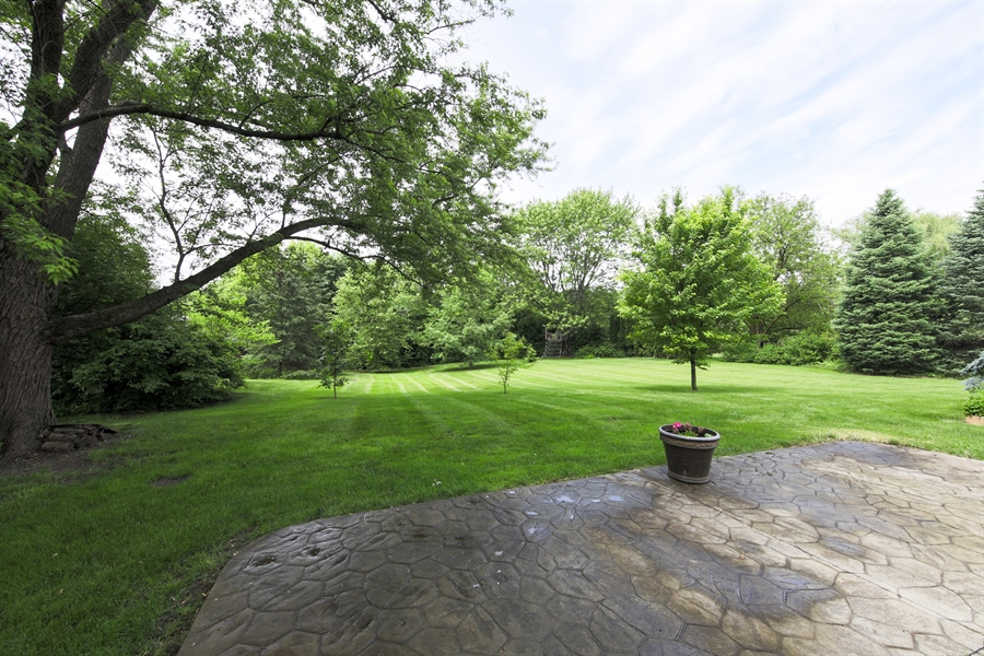 Real Estate Photography - 738 S Forest Dr, Barrington, IL, 60010 - Back Yard