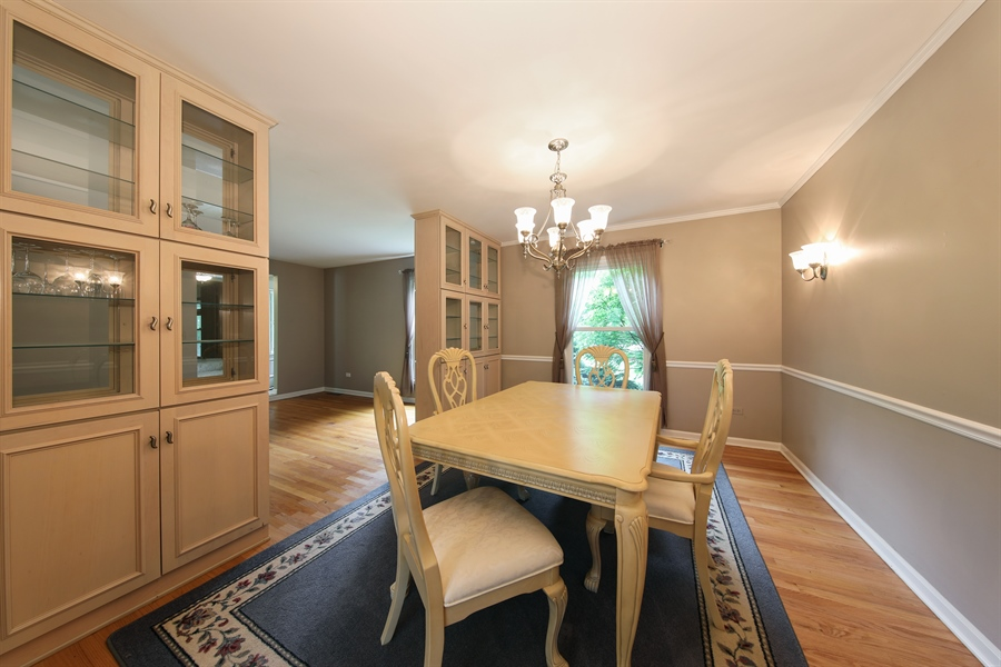 Real Estate Photography - 738 S Forest Dr, Barrington, IL, 60010 - Dining Room