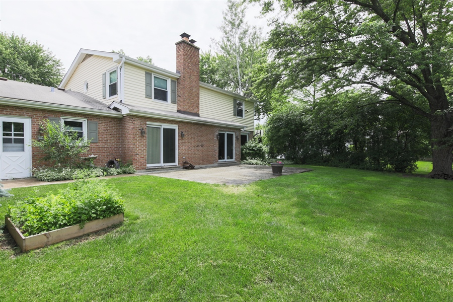 Real Estate Photography - 738 S Forest Dr, Barrington, IL, 60010 - Rear View